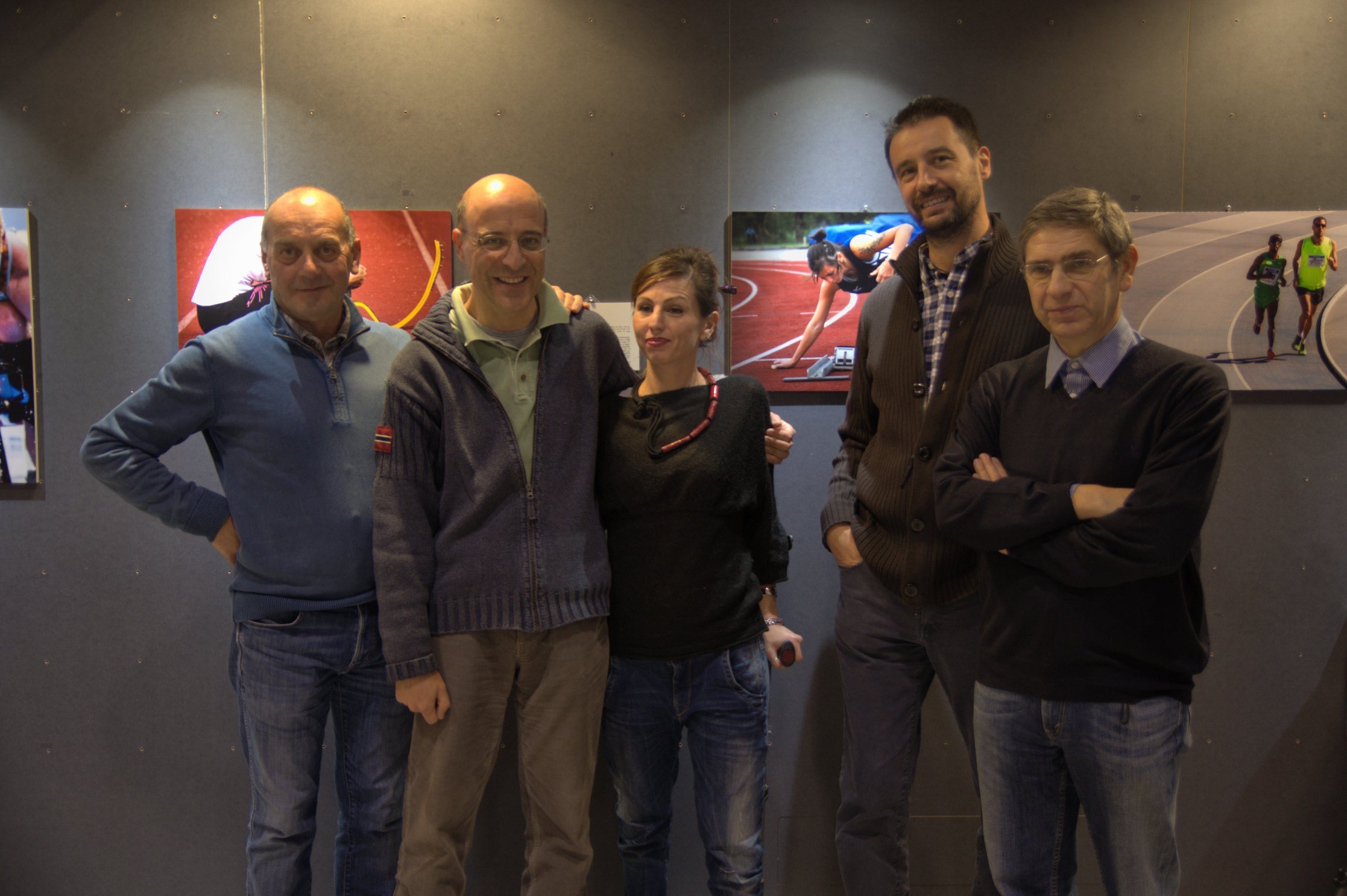Alcuni autori con Federica Maspero
